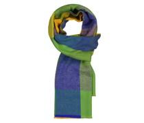 Schal im Kaschmirmix Gruen