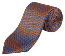 Krawatte in Orange für Herren