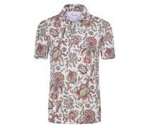 Poloshirt mit Paisley-Motiv
