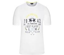 T-Shirt in Weiss für Herren