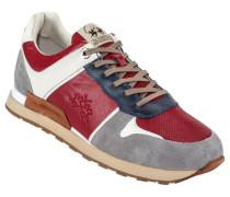 Sneaker, Camoscio in Rot für Herren