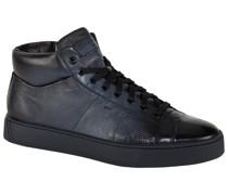 Sneaker aus Leder Marine