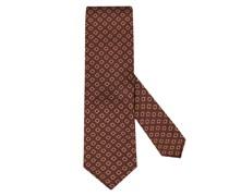 Krawatte mit Muster Bordeaux