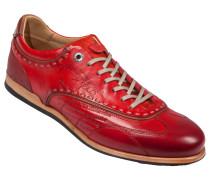 Sneaker, Cuero in Rot für Herren
