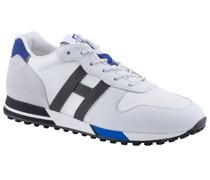Sneaker mit hochwertigen Leder-Patches