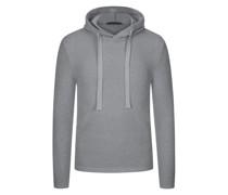 Sweatshirt Bouclé-Optik Marine