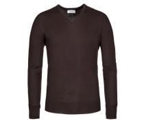 Pullover in D-braun für Herren