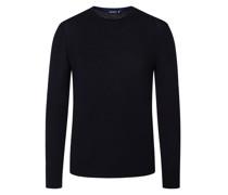 Pullover mit Seidenanteil Marine