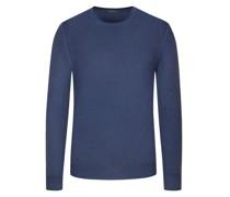 Hochwertiger Pullover Vintage-Optik Marine