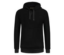 Sweatshirt mit Kapuze Strickoptik