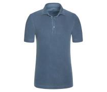 Poloshirt in Grau für Herren