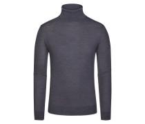 Pullover, Slim Fit in Grau für Herren