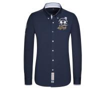 Freizeithemd, Regular Fit in Blau für Herren