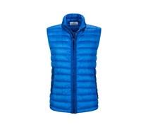 Daunenweste, Garment Dyed in Blau für Herren