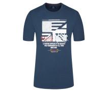 T-Shirt in Marine für Herren