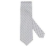 Krawatte im Paisley-Muster Offwhite