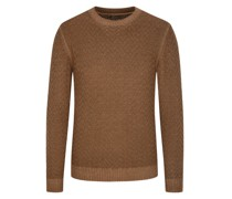 Pullover mit Musterstrick