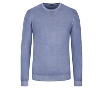 Hochwertiger Pullover Vintage-Optik Hell