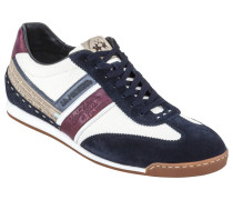 Sneaker, Camoscio in Blau für Herren