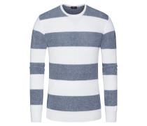 Pullover, O-Neck in Weiss für Herren