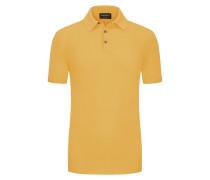 Poloshirt leichtem Baumwoll-Strick