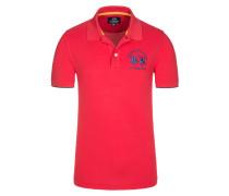 Poloshirt in Rot für Herren