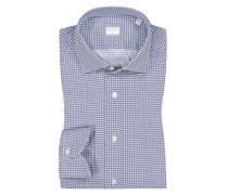 Exklusives Active-Shirt mit Double Stretch, Tailor Fit Marine