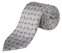 Krawatte in Silber für Herren