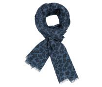 Leinen Schal mit Muster