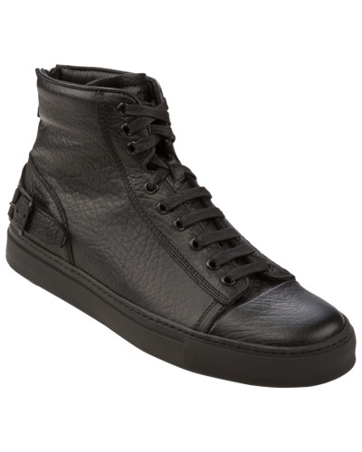 belstaff herren sneaker borough schwarz von belstaff reduziert. Black Bedroom Furniture Sets. Home Design Ideas
