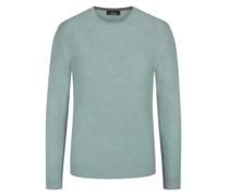 Pullover mit Seidenanteil Mint