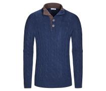Pullover, Coreana in Blau für Herren