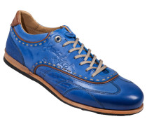 Sneaker, Cuero in Blau für Herren