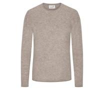 Pullover mit Alpaka-Anteil, O-Neck