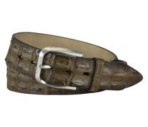Hochwertiger Gürtel Krokodilleder