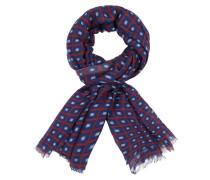 Schal mit modischem Muster aus reiner Wolle
