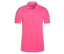Poloshirt in Pink für Herren