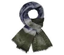 Schal in Bouclé-Qualität in Gruen