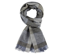 Schal in M-grau für Herren