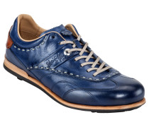 Sneaker, Cuero in Marine für Herren