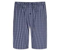 Schlafanzughose aus Baumwolle Marine