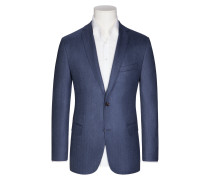 Sakko, Regular Fit in Blau für Herren