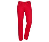 Jeans, Leonardo in Rot für Herren