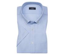 Halbarmhemd, Toy, Tailor Fit in Blau für Herren