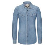 Jeanshemd, Regular Fit in Blau für Herren