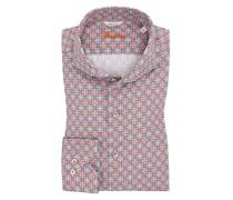 Oberhemd mit modischem MusterFitted Body Rose