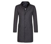Mantel, Regular Fit in Grau für Herren