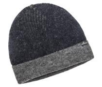 Mütze, Reversible in Blau für Herren