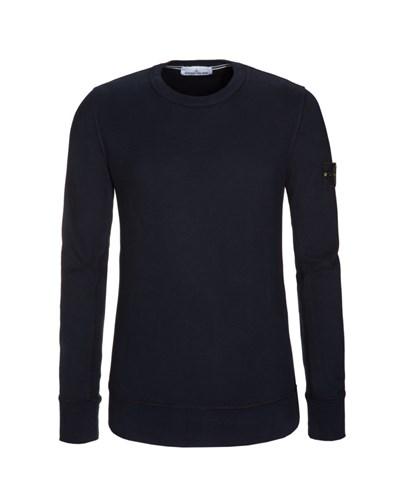 stone island herren sweatshirt blau von stone island reduziert. Black Bedroom Furniture Sets. Home Design Ideas