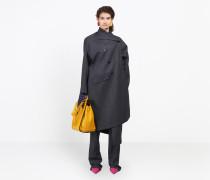 Gezogener zweireihiger Mantel